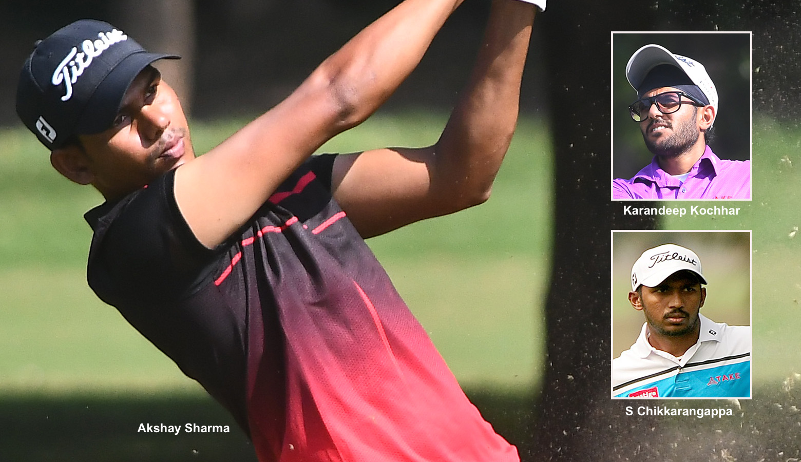 Flawless Akshay extends lead to 3 shots as locals hold sway in PGTI Players event