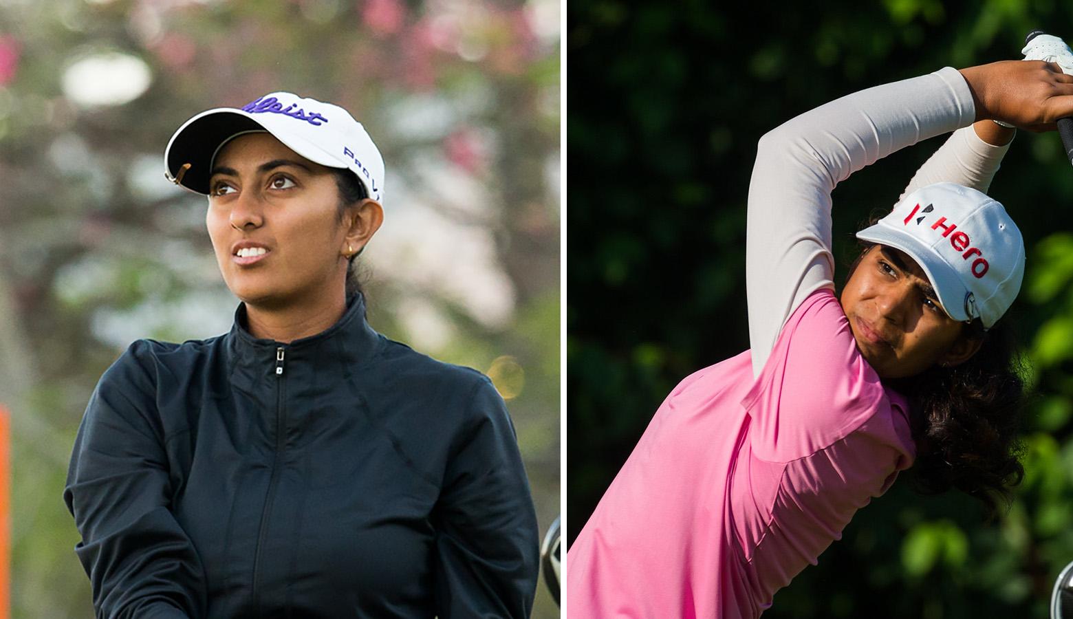 Diksha rides a roller coaster to rise to 17th in Dubai; Aditi, too, rises to 17th