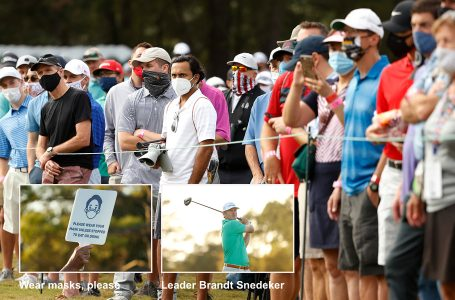 Fans return in Houston as do DJ and Koepka, but Snedeker takes lead