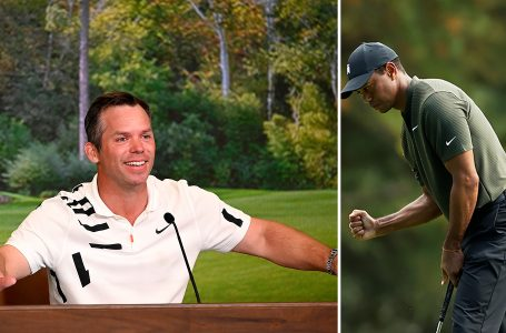Bogey free Woods gets his Masters defense to a solid start