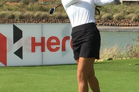 Ridhima blazes on back nine to open a six-shot lead in first leg of Hero WPGT