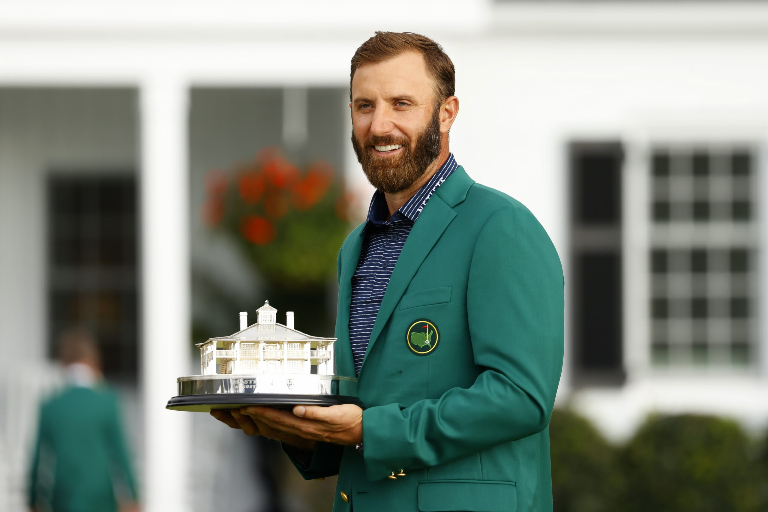 Dustin Johnson finally gets his Green Jacket and by a mile