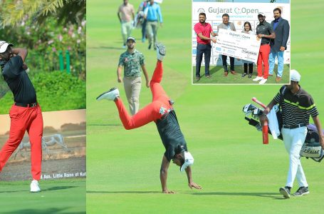 Inspired by Dravid, Chikka rallies to make a winning start on PGTI in 2021 at Gujarat Open