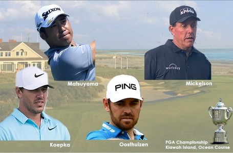 PGA Champs at Kiawah provides fascinating mix of contenders at the halfway mark