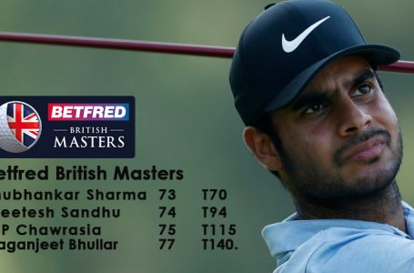 Disappointing start for Indians at British Masters