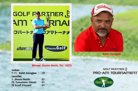 Gangjee finishes 11th and then lends caddy to winner Norris in play-offs