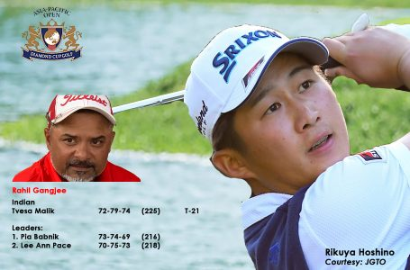 Gangjee finishes T-53rd in Asia-Pacific Diamond Cup