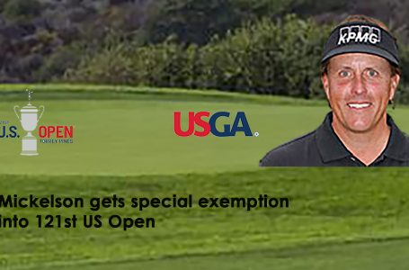 USGA announces special exemption for Phil Mickelson into US Open