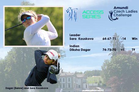 Diksha Dagar finishes Tied 9th in Czech Ladies Open