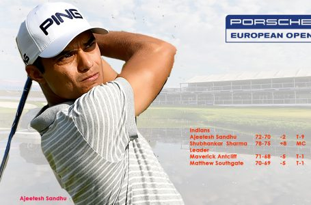 Ajeetesh Sandhu at T-9 in European Open eyes first Top-10 in 20 months