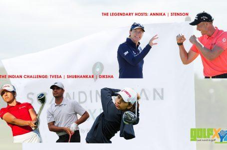 Tvesa, Diksha and Shubhankar tee up at Scandinavian Mixed Masters