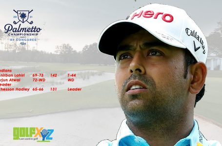 Lahiri stays afloat despite string of bogeys, makes cut at Palmetto; Atwal WDs