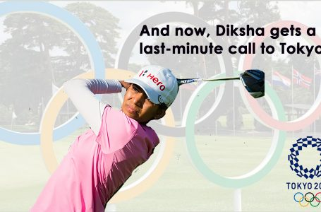 Diksha gets a late Olympic call; makes plans to get to Tokyo
