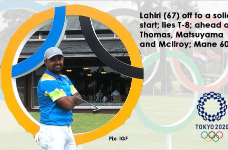 Final update – Solid 67 puts Lahiri T-8 after Day 1 in Tokyo as Matsuyama, McIlroy, Thomas trail