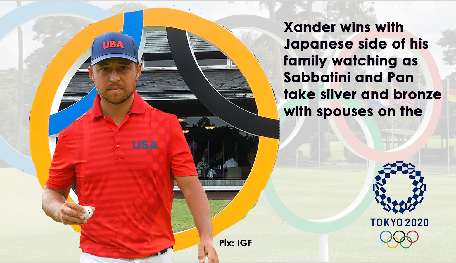 Lahiri 42nd as American Schauffele takes gold in front of his family in Japan